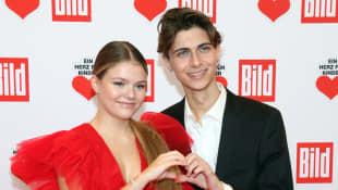 Faye Montana und Lukas Rieger
