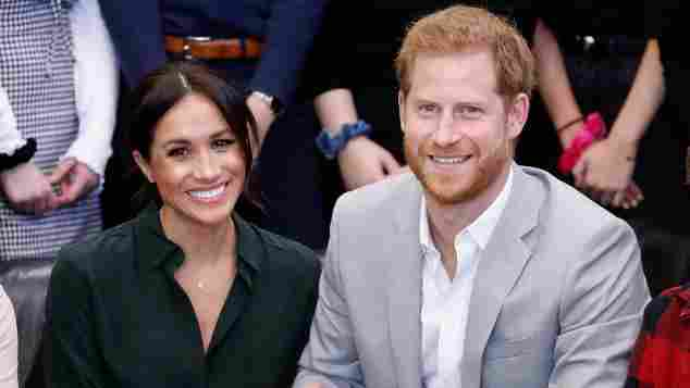 Herzogin Meghan und Prinz Harry beim Joff Youth Centre in Sussex 2018