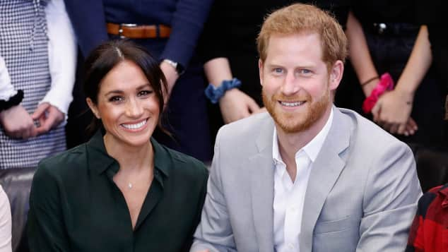 Herzogin Meghan und Prinz Harry beim Joff Youth Centre in Sussex 2018