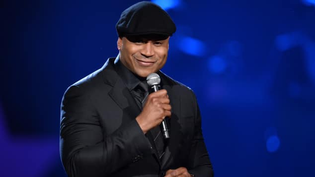 LL Cool J als Moderator bei den Grammys in Los Angeles 2014