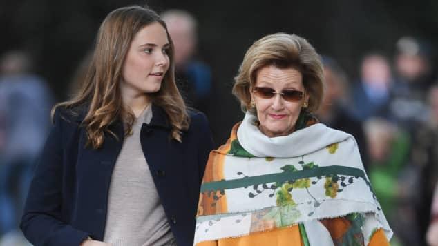 Prinzessin Ingrid Alexandra und Königin Sonja