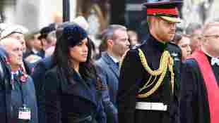 Prinz Harry Herzogin Meghan Remembrance Day