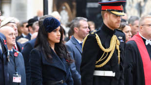 Prinz Harry Herzogin Meghan Remembrance Day