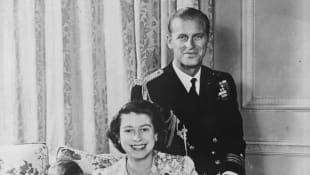 Prinz Charles, Königin Elisabeth, Prinzessin Anne, Prinz Philip