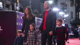Herzogin Kate, Prinz William, George, Charlotte und Louis