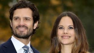 Prinz Carl Philip und Prinzessin Sofia teilen neues Pärchenbild