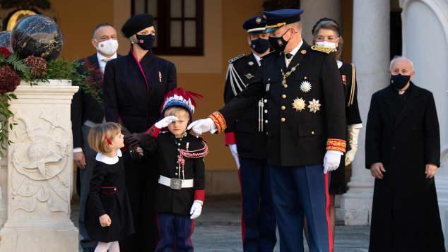 Die monegassische Fürstenfamilie