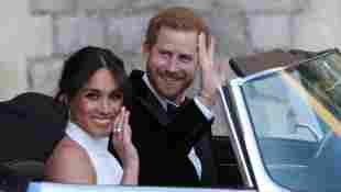 Herzogin Meghan und Prinz Harry in Windsor Castle am 19. Mai 2018
