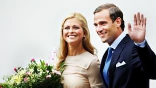 Prinzessin Madeleine und Jonas Claes Bergström