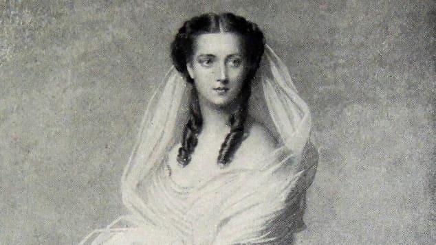 """Elisabeth von Österreich-Ungarn als Kaiserin """"Sissi"""""""