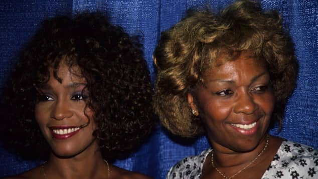 Whitney Houston, Whitney Houston Mutter, Cissy Houston, Whitney Houston und Cissy