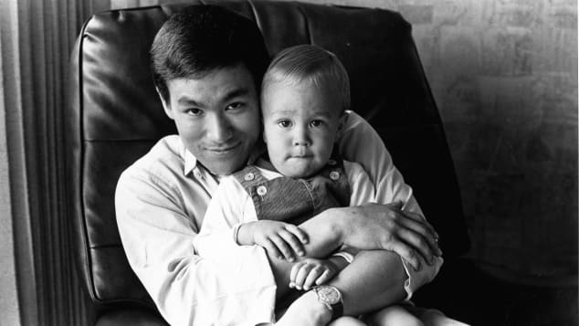 Bruce Lee und sein Sohn Brandon Lee