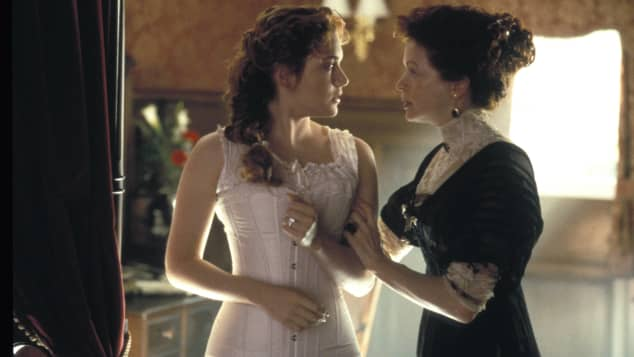 """Titanic"": Kate Winslet und Frances Fisher"