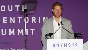 Prinz Harrv sprach bei den Diana Awards auch über Archie Harrison