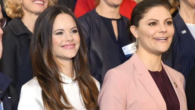 Prinzessin Sofia und Prinzessin Victoria