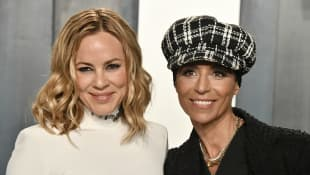 Maria Bello und Dominique Crenn