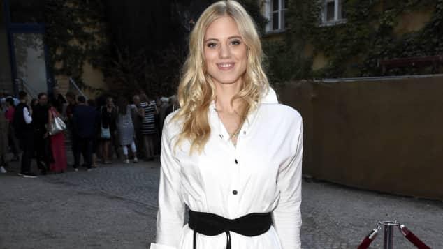 """""""Sturm der Liebe""""-Star Larissa Marolt bei der Movie Meets Media in München"""