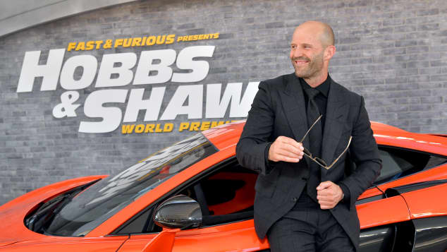 Jason Statham Fast and Furious Hobbs and Shaw Premiere