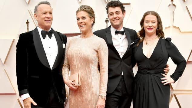 Tom Hanks Frau
