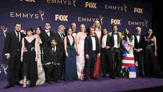 """Der Cast von """"Game of Thrones"""" 2019 bei den 71. Emmy Awards"""