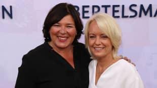 Vera Int-Veen und ihre Frau Christiane bei der Bertelsmann Party am 12. September 2019