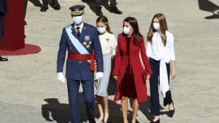 Königin Letizia, König Felipe, Prinzessin Leonor, Prinzessin Sofia