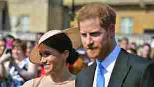Prinz Harry Meghan Markle Gartenparty Charles