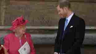 Prinz Harry Königin Elisabeth II