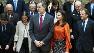 Königin Letizia; König Felipe; Königin Letizia und König Felipe