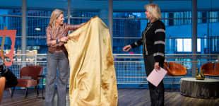 Königin Máxima wechselt zwischen zwei Terminen ihr Outfit