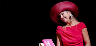 Königin Maxima Pink Kleid
