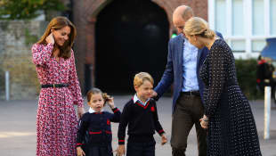 Herzogin Kate, Prinzessin Charlotte, Prinz George, Prinz William