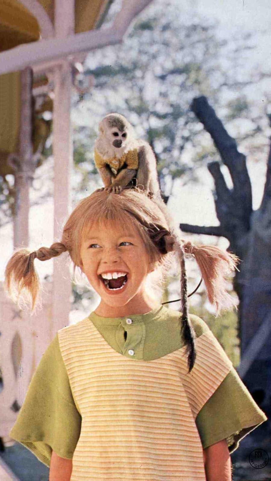 Pippi Langstrumpf Affe