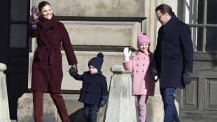 Prinzessin Victoria, Prinz Daniel, Prinz Oscar, Prinzessin Estelle