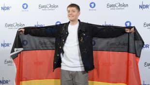 Ben Dolic bei der Bekanntgabe des deutschen ESC-Kandidaten 2020