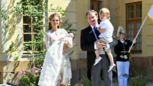 Prinzessin Madeleine, Chris O'Neill und ihre Kinder