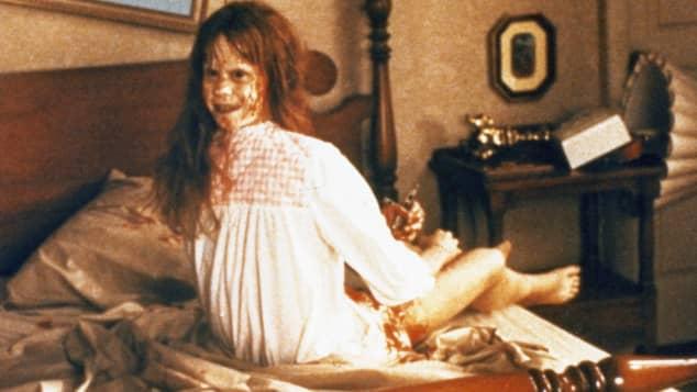 """Linda Blair in """"Der Exorzist"""" 1973"""