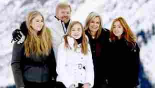 König Willem Alexander; Prinzessin Amalia; Prinzessin Ariane; Königin Máxima; Prinzessin Alexia