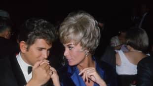 Michael Landon und Marjorie Lynn Noe