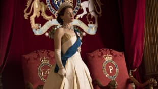 """""""The Crown"""" - Claire Foy"""