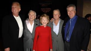 Kirk Douglas mit Familie