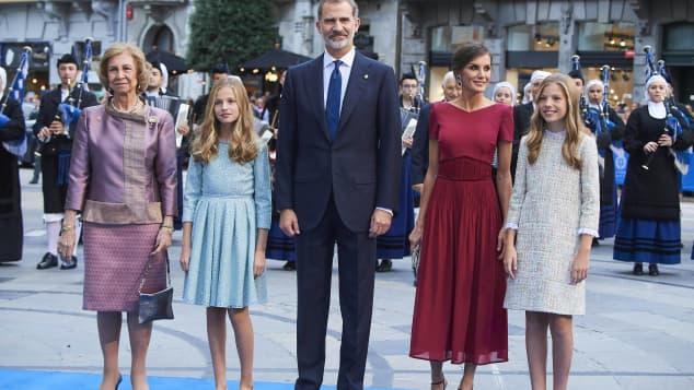 Spanien zwillinge von letizia Letizia von
