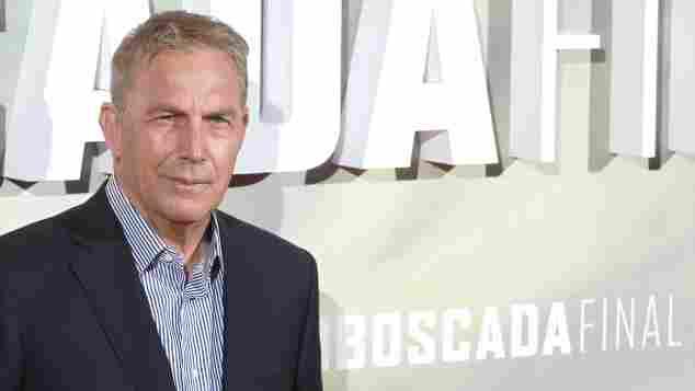 """Schauspieler Kevin Costner ei der Premiere des Netflix-Films """"Emboscada final / The Highwaymen"""" im Cine Capitol. Madrid, 25.03.2019"""
