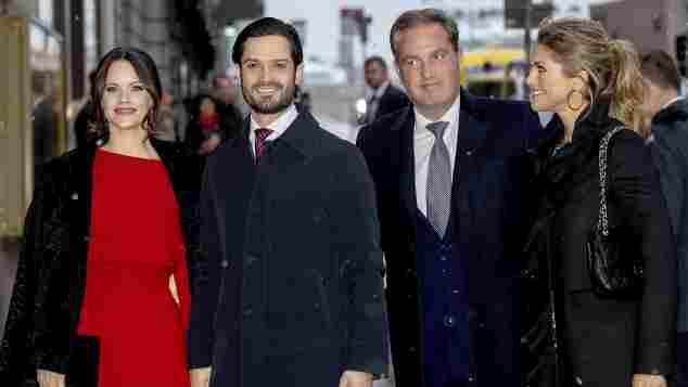 Prinzessin Sofia, Prinz Carl Philip, Chris O'Neill, Prinzessin Madeleine Stockholm