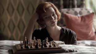 """""""Das Damengambit"""": Anya Taylor-Joy als """"Elizabeth 'Beth ' Harmon"""""""