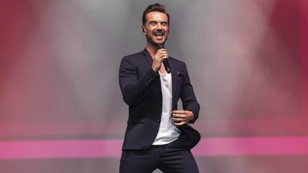 Florian Silbereisen bei einem Auftritt in der TUI Arena in Hannover
