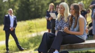 Kronprinzessin Mette-Marit und Tochter Ingrid Alexandra