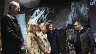Königin Letizia, König Felipe, Prinzessin Leonor und Prinzessin Sofia