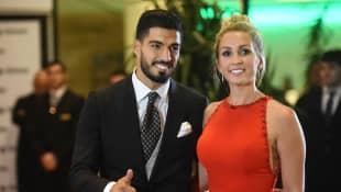 Luis Suarez und Sofia Balbi
