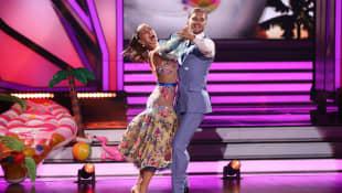 """Let's Dance"": Renata Lusin und Rurik Gislason"
